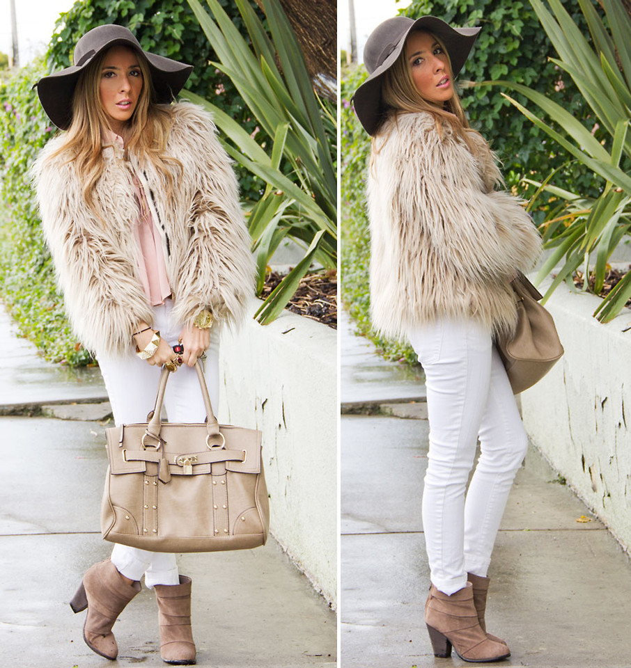 calça branca no inverno, sim senhora! | Inspiração Fashion
