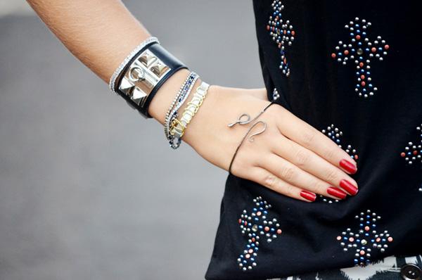 pulseira de mao