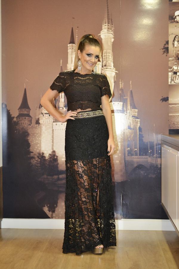 Well-known look festa:cropped + saia longa | Inspiração Fashion XF18