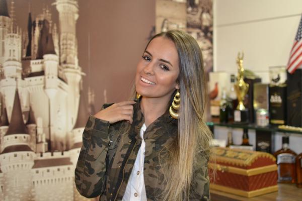 look saia renda kazullo e jaqueta camuflada zara loja on line trendy box3