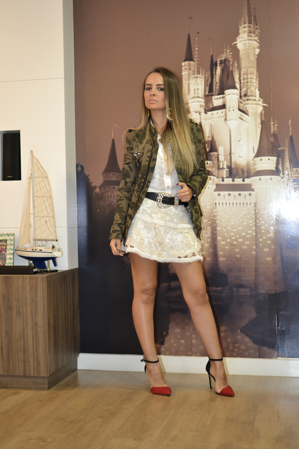 look saia renda kazullo e jaqueta camuflada zara loja on line trendy box8