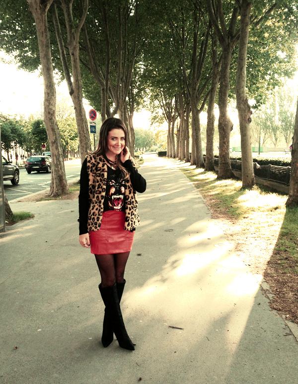 look Paris inspiração Fashion