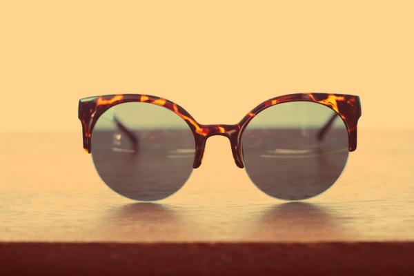 oculos leopardo retro