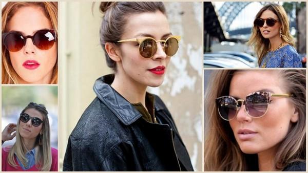oculos leopardo vintage retro redondo loja virtual