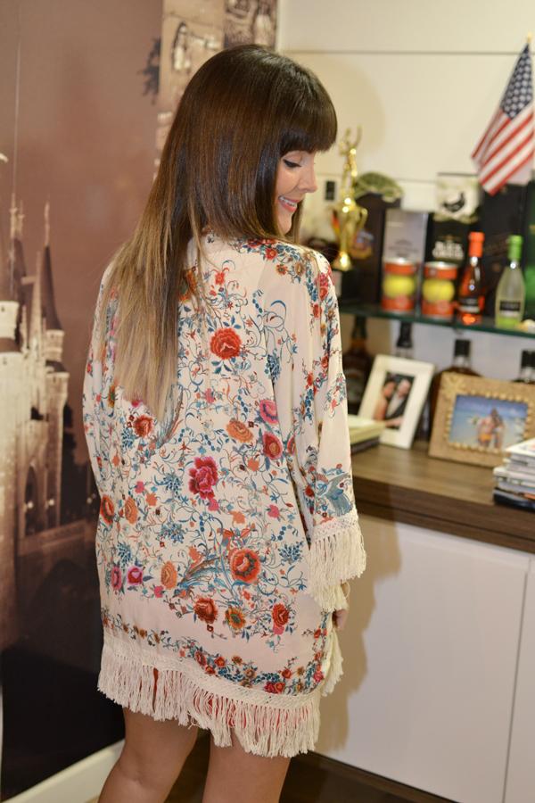 look com kimono Zara
