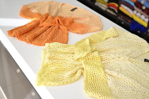 blusao trico dip dye