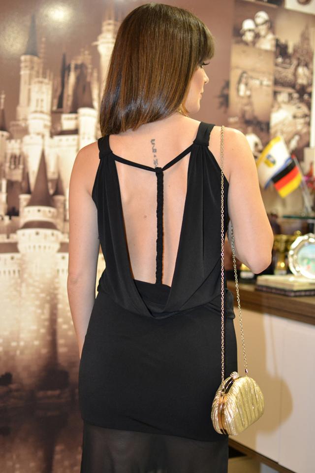 vestido longo costas